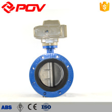 Automatic air vent regulating Double flange butterfly valve
