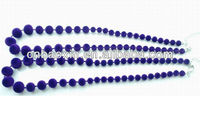 2013 Fashion velvet beads necklace designs
