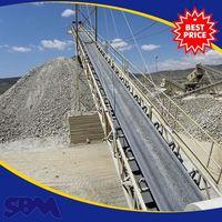Latest technology conveyor belt company for dolomite
