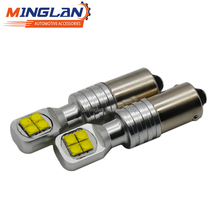 High Power BA9S BAX9S BYX9S 40W canbus T4W H6W H21W W5W 8SMD LED Side Turn Signals No error Reverse Light White Green Yellow Red