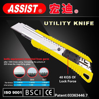 ASSIST multi-purpose sliding knife pocket cutter 18mm cutter office tool