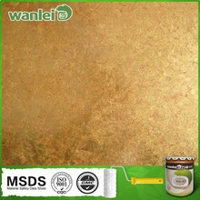 Raw material and show a metallic colour soft touch paint