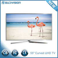 A great size for a living room 55 inch led tv second hand lcd tv with famous brand panel