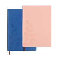 High quality PU leather customised notebook