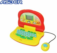 Child Educational Toy Learning 4 Languages Plastic kids laptop learning machine