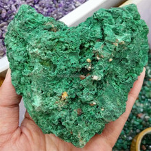 Hot! Natural Rough Malachite Stone Wholesale Green Gemstone Malachite Rough