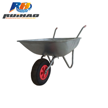 Construction Function Metal Garden Wheelbarrow