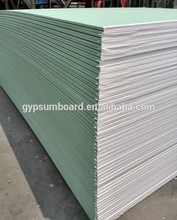 Building material paper faced gypsum boards/ paper faced gypsum wall panel /ceiling tile for home design