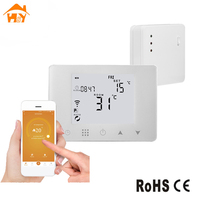 Smart Room 433MHz Radio Frequency Remote Control WIFI Wireless Gas Boiler Heating Thermostat