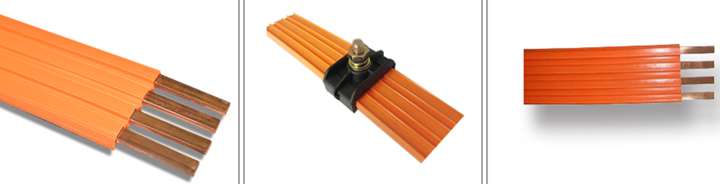 1P125A-325A Insulated Conductor Rails for crane equipment