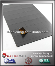 Isotropic Magnetic Square Sheet Rubber Flexible Magnet