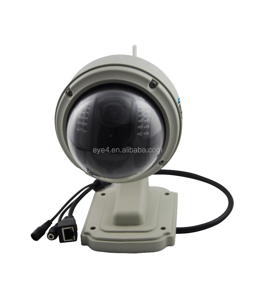 built in sd card slot Play and Plug Megapixel wifi wireless pan/tilt/zoom cctv ip camera ip
