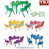 colorful rectangle wholesale prices plastic tables and chairs