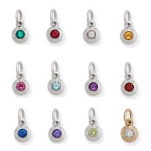 2015 Wholesale Silver Plated Boy And Girl Birthstone Jewelry Sets For Anniversary #B001