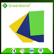 Greenbond marble pattern cost of wall cladding Aluminum Composite Panel with high technology