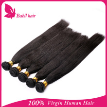 Wholesale high quality grade 5a straight brazilian genesis virgin hair