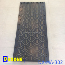 Heat insulation aluminum laminated and fire proof panel for fence