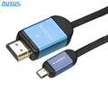 High Speed HDMI Cable leads with ethernet D type golden plate