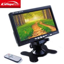 7'' flip down car stand alone portable cctv test monitor