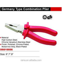 "Germany Type Muti Function CRV 6"" 7"" 8"" insulated combination pliers"