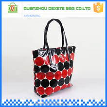 Customized women waterproof beach quilted tote bags wholesale