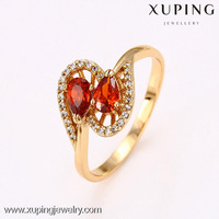 12657 Xuping Jewelry Red Gemstone Ring
