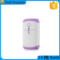 Mini portable high capacity 5400mah powerbank for mobile phone charger