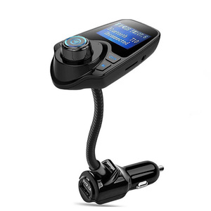 Car Accessories Magnetic Base bluetooth fm transmitter with MP3 Player