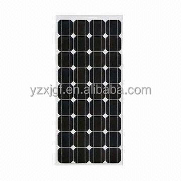 good price and high efficiency 150W mono solar panel for solar power system