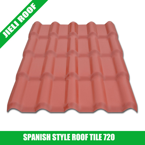 Spanish style Synthetic Resin Roof Tile