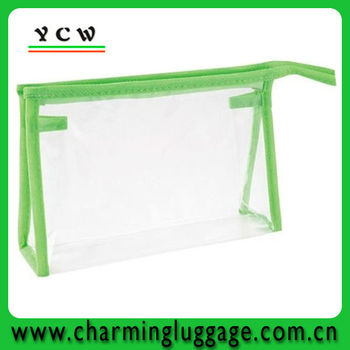 Clear transparent PVC Cosmetic Bag for European Market