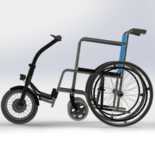 Hot selling 250w 3 wheel electric wheelchair conversation kits