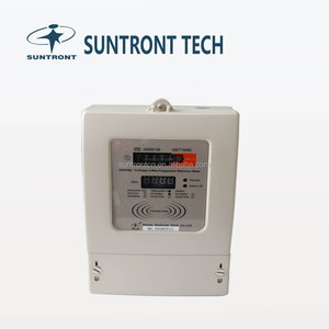 Three Phase Smart Card Electricity Meter