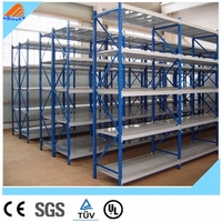 long span shelving,multi level longspan shelving,slanted shelving
