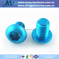 Customized DIN7380 Stainless Steel/Aluminum Hex Socket Button Head Cap Screw
