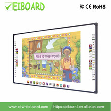 Top quality factory supply portable smart touch board with projector