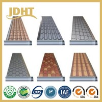 JD-254 flexible colourful roofing roll waterproof sheet membrane construction material