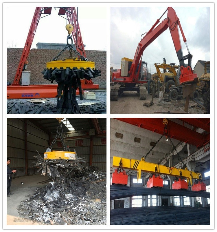 China building machinery powerful electromagnet, electro magnet Lifter