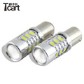 Tcart 2014 newest 1156 1157 7440 3156 p13w h16 p24w 5730 chip 15smd 12v auto led lamp