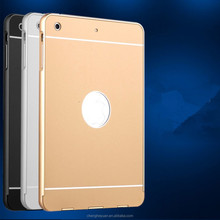 High Quality Shockproof Metal Bumper Hard Back Cover Case For ipad mini