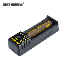 Basen single slot battery charger BO1 18650 26650 20700 li-ion battery charger 5V/2A universal battery