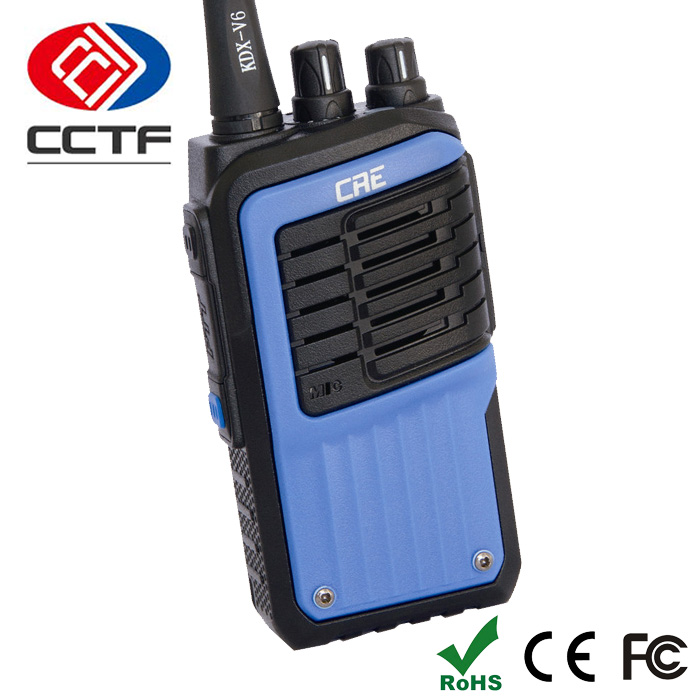Kdx-V6 China Waterproof Ham Radio Equipments Security Guard Equipment Walkie Talkie Set