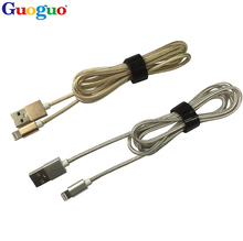 Wholesale MFi certified space gray braided phone charging cable with 8 pin adapter micro mfi