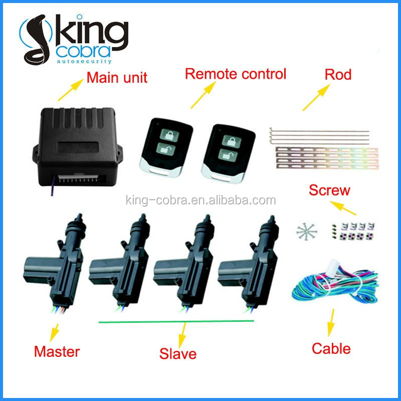 New MFK 5001 Remote Control Car Central Locking System Images