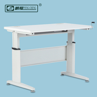 Modern office furniture height adjustable working station/table