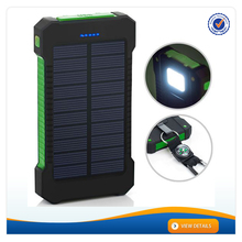 AWC937 New 8000mah Power Bank outdoor solar Power Bank water proof solar charger