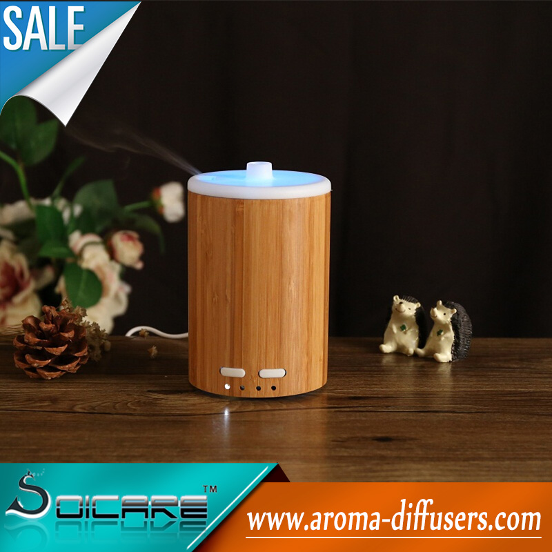 bamboo mini ultrasonic aroma diffuser 2014 New arrivaling