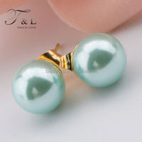 stylish China factory stainless steel pictures of gold earrings