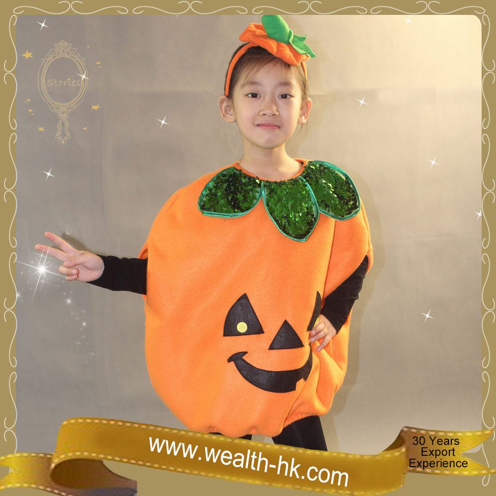 Cosplay Fashion Halloween Pumpkin Costume
