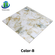 New Material PVC Marble Panel Plastic PVC Sheet For Door and Wall